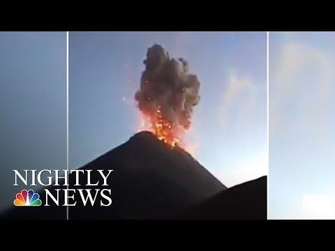 Guatemala Volcano Eruption: At Least 62 Killed, Many Missing   NBC Nightly News