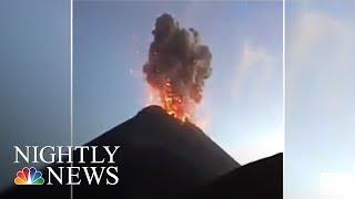 Guatemala Volcano Eruption: At Least 62 Killed, Many Missing | NBC Nightly News