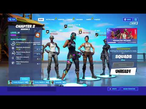 Champions League division 8 Arena Late Night Vibe Fortnite ...