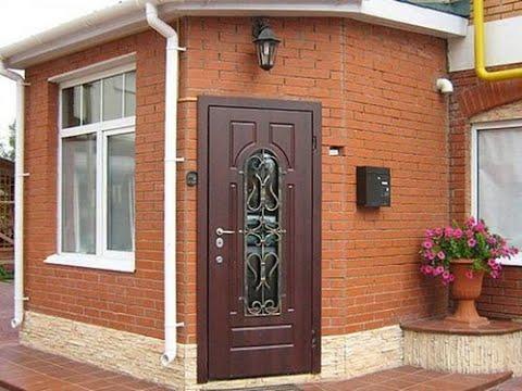 Как самому сделать металлическую дверь в свой дом