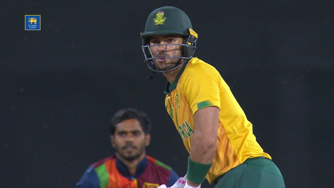 Reeza Hendricks 56*   3rd T20I, Sri Lanka vs South Africa 2021