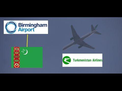 Turkmenistan Airlines Flight 429 (Ashgabat to BHX)