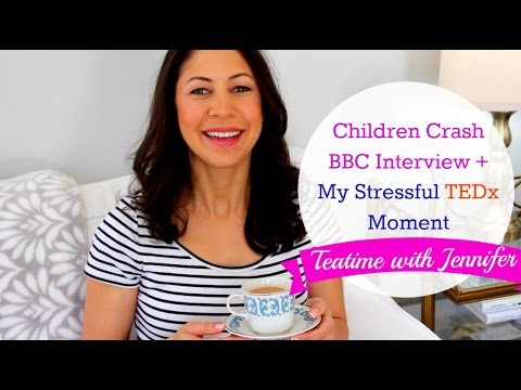 Children Crash BBC Interview + My Stressful TEDx Moment | Teatime with Jennifer