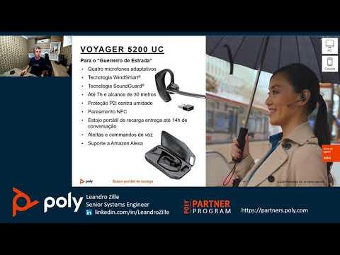 Treinamento de headsets Poly - Português