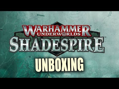 Warhammer Underworlds: Shadespire Unboxing