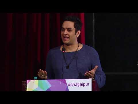 Vikas Gupta at ChaT Youth Summit 2017, Jaipur