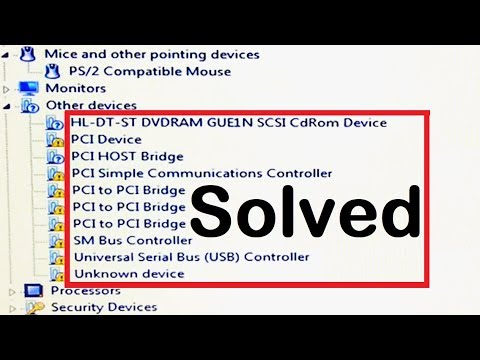 How To Fix PCI Bus Driver Issue In Windows 7, PCI Device Driver Error (2019)