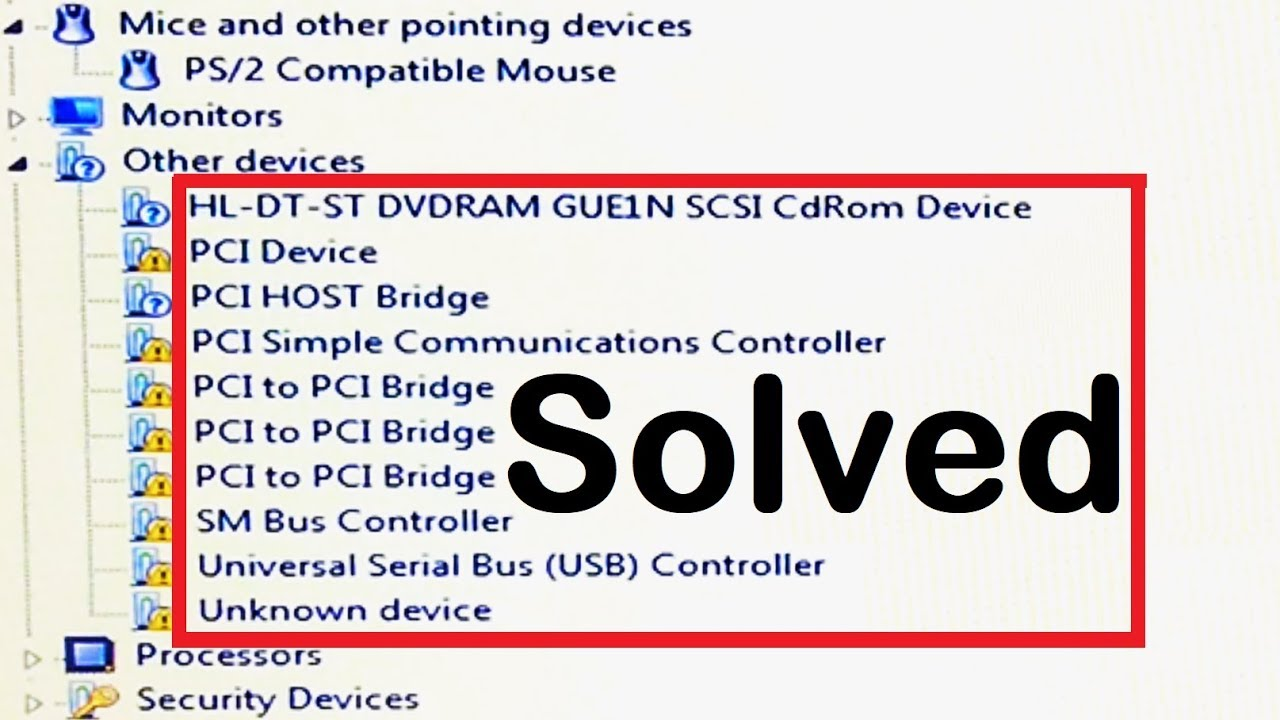PCI UNIVERSAL SERIAL BUS WINDOWS 7 64BIT DRIVER DOWNLOAD