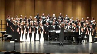 """At the River"" Aaron Copland/Arr. White - BSC Combined Choirs"