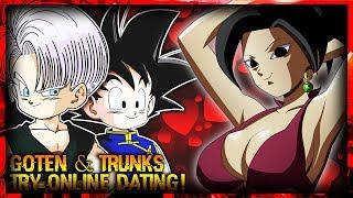Goten and Trunks Try Online Dating! (DBZ Parody)