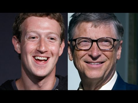 Is Mark Zuckerberg trying to outdo Bill Gates?