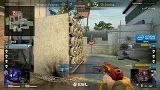 REZ 1vs3 clutch vs Sk gaming - IEM OAKLAND (CSGO)