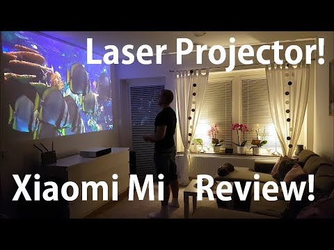 Xiaomi Mi Laser projector review! Full Test!