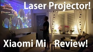 Xiaomi Mi Laser projector review! 150'' Ultra short throw