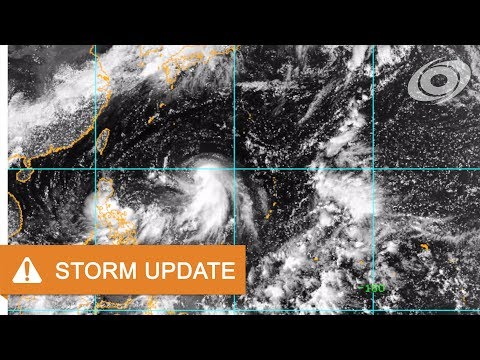Typhoon Talim - Update 1 (05:00 UTC September 11, 2017)