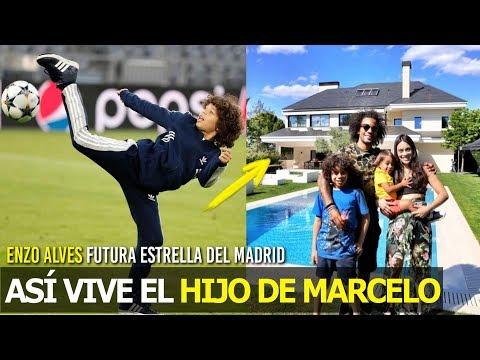 AS VIVE EL HIJO DE MARCELO, ENZO ALVES YA LO CONTRAT EL REAL MADRID , ES UN CRACK