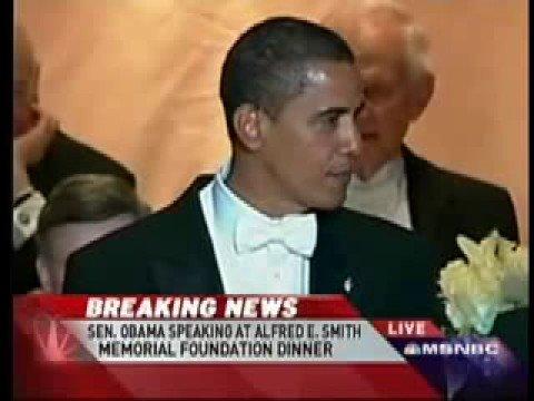 Obama Roast McCain @ Alfred E. Smith Dinner Part 2