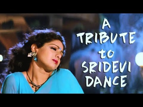 A Tribute to Dancing Diva Sridevi || Bollywood Dance Songs of Sridevi || Hk Funday