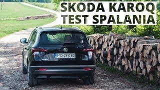 Skoda Karoq 1.5 TSI 150 KM (AT) - pomiar zużycia paliwa