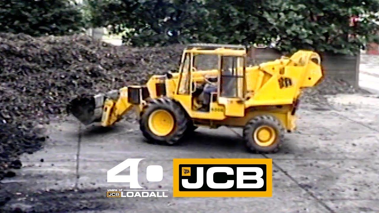 JCB 530B - Celebrating 40 Years of Loadall