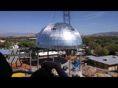Raising of the Dome | Embry-Riddle Aeronautical University - Prescott