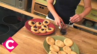 Make Anna Olsons Giant Peanut-butter-and-jelly Thumbprint Cookies