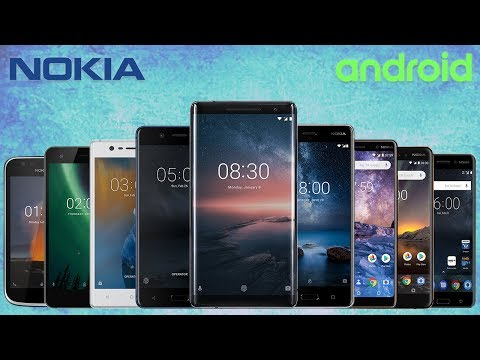 Every Nokia Smartphone Official Commercials (2017-2018)