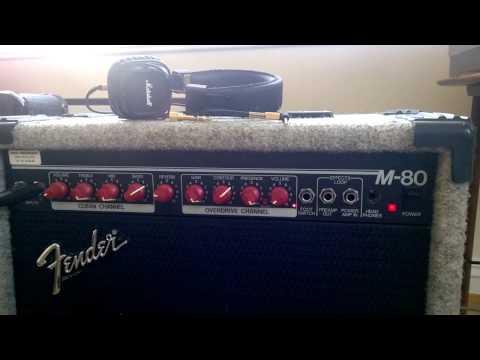 Fender M80 Overdrive