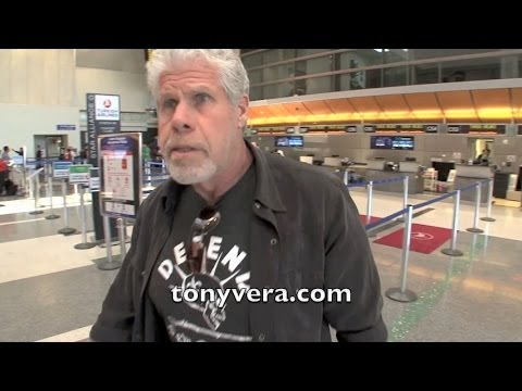 Sons of Anarchy Ron Perlman Going off Big Time on Cameraman