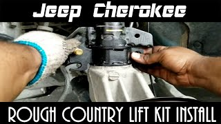 Jeep Cherokee - Rough Country Lift Kit Installation