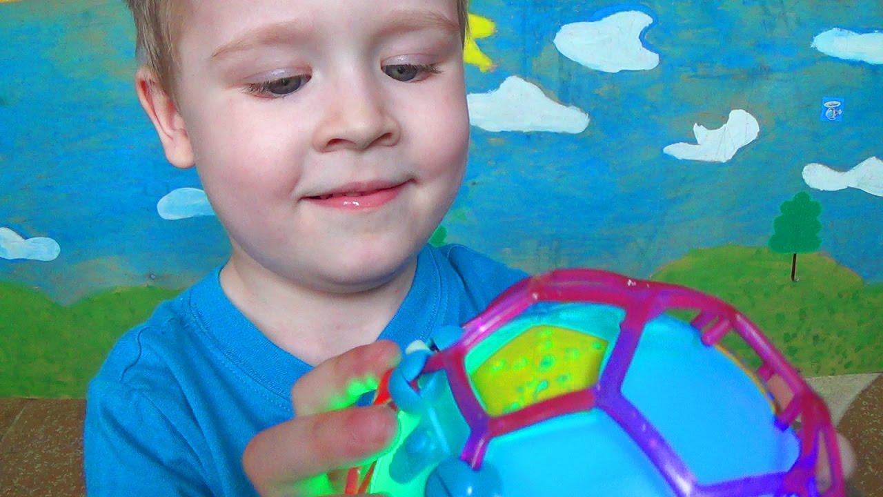 Смешной шарик - Видео для детей - Купили игрушки фикс прайс
