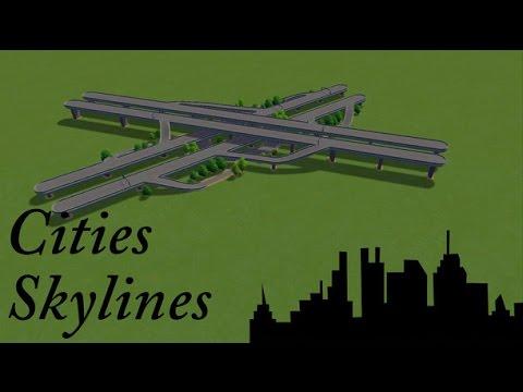 Cities Skylines : Asset Creator - Elevated Highway Interchange