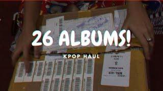 KPOP HAUL (WANNA ONE, EXO, BTS, SEVENTEEN and etc.)
