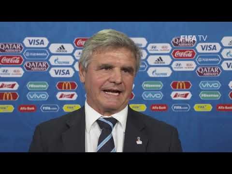 Celso OTERO – Uruguay - Final Draw Reaction