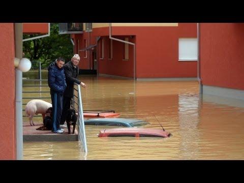 Bosnia Pres: Floods worst thing since war