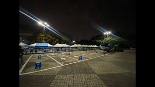 새벽 6시 서울경선현장 텐트 지키미