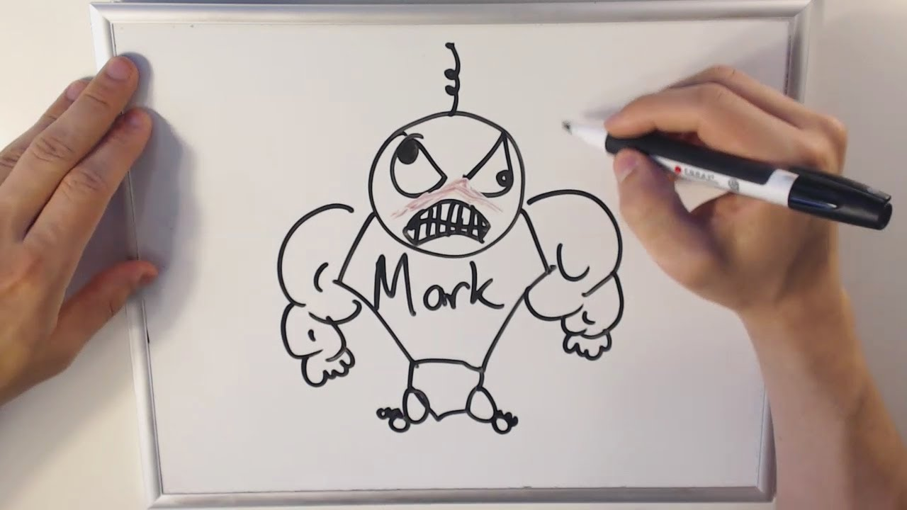 Funny pictures to draw on a whiteboard for Cute whiteboard drawings