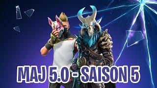 SAISON 5: DESERT (New MAP), SKINS - NEW VÉHICULE on FORTNITE!