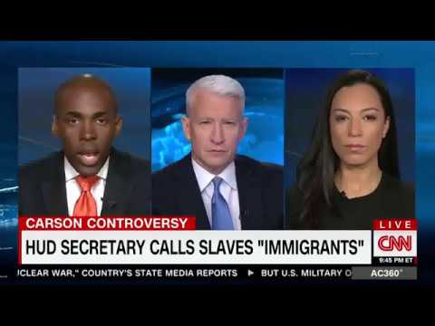 "CNN's Angela Rye Reminds Ben Carson That ""We Built This Joint for Free"""