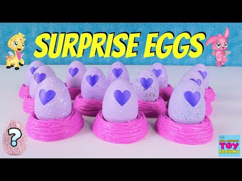 Hatching Hatchimals CollEGGtibles Surprise Egg Palooza Limited Edition Toy Review | PSToyReviews