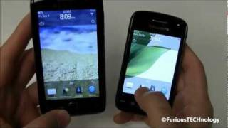 Blackberry Torch 9860 Touch vs Blackberry Curve 9380 Touch - REVIEW