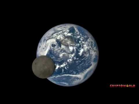 Moon Crossing Face of Earth