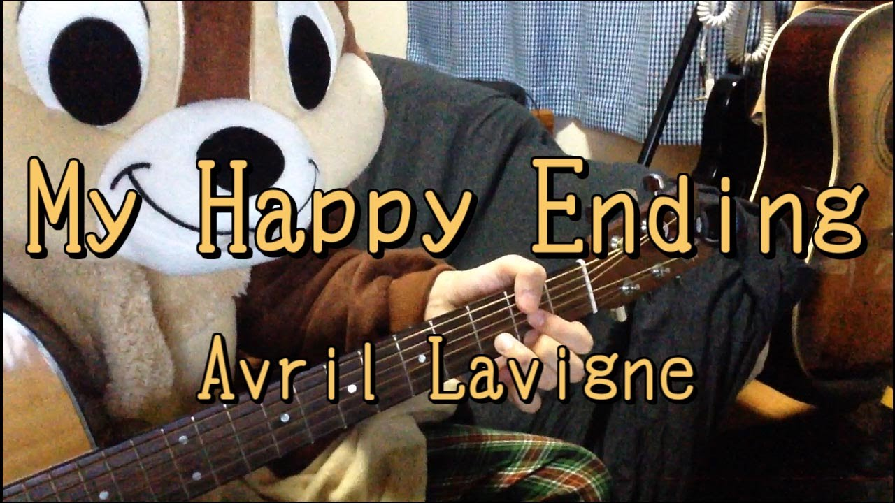 My happy endingavril lavigneguitar chords youtube hexwebz Images