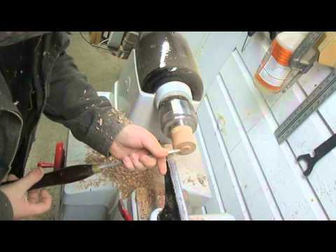 woodturning off center ornament