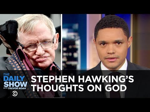 Stephen Hawking Posthumously Answers the Big Questions & Kleenex Accused of Sexism | The Daily Show