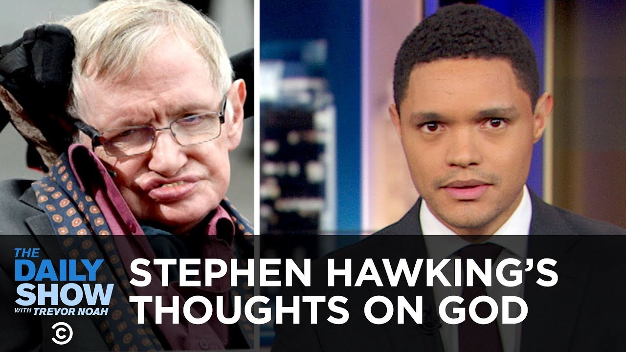 Stephen Hawking Posthumously Answers the Big Questions & Kleenex Accused of Sexism   The Daily Show