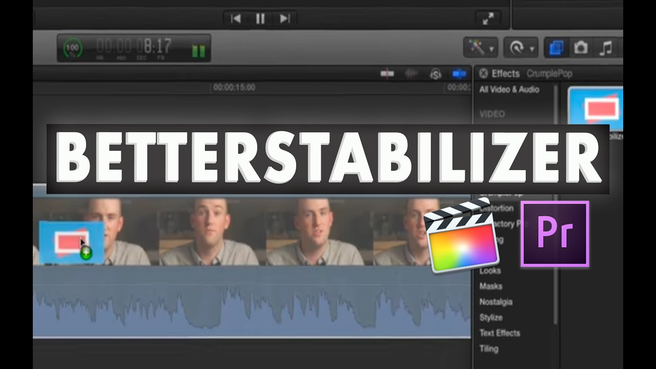 Better Stabilizer for Final Cut Pro X and Premiere Pro