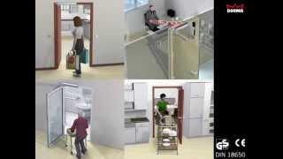 Привод для распашных дверей DORMA PORTEO