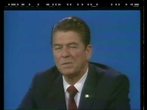 Gov. Reagan talks Ford on Face the Nation