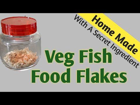 How To Make Veg Fish Food Flakes Homemade Fish Food Flakes HOW TO: Make Your Own Fish Food TUTORIAL